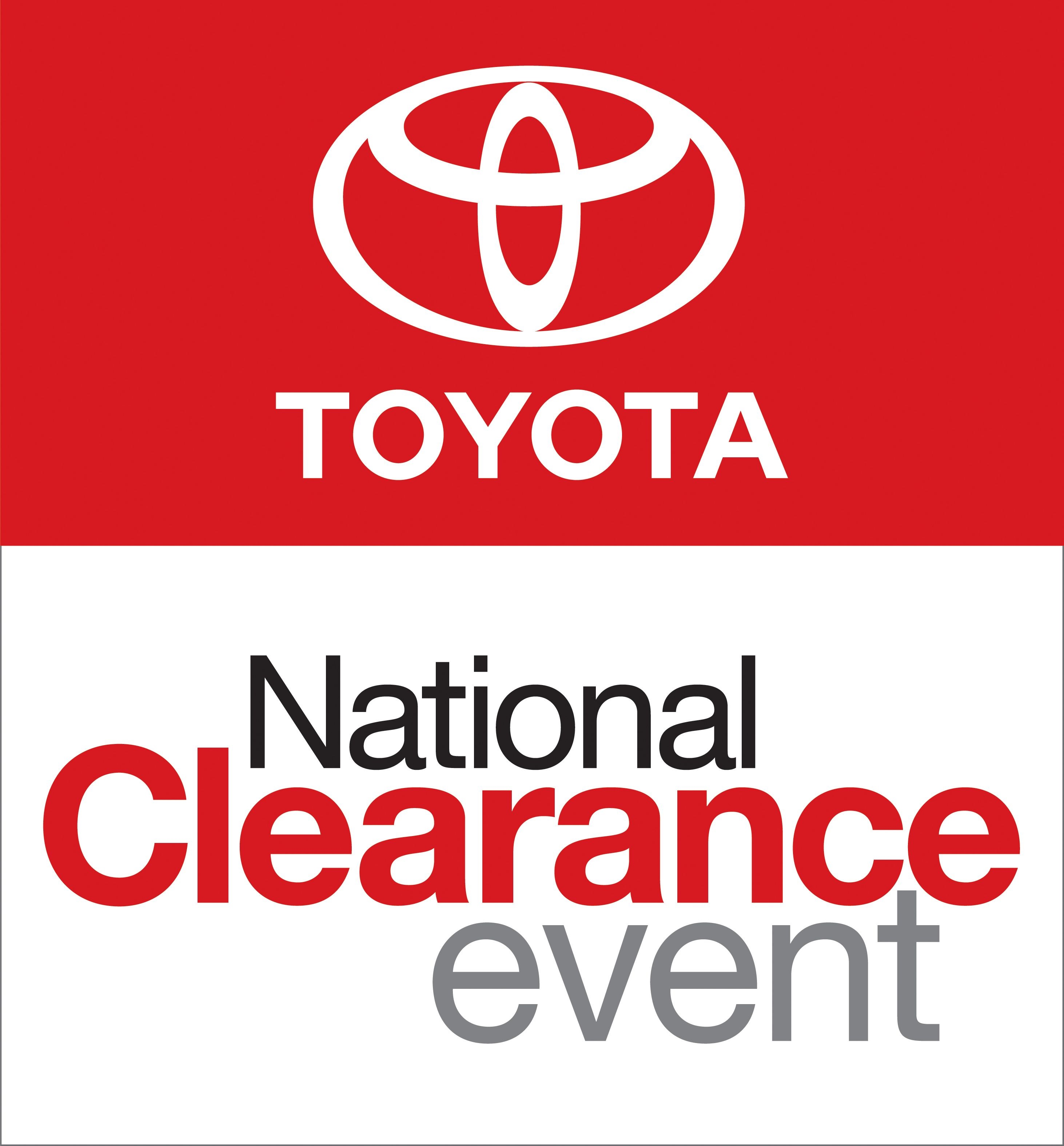 National Clearance Event Logo