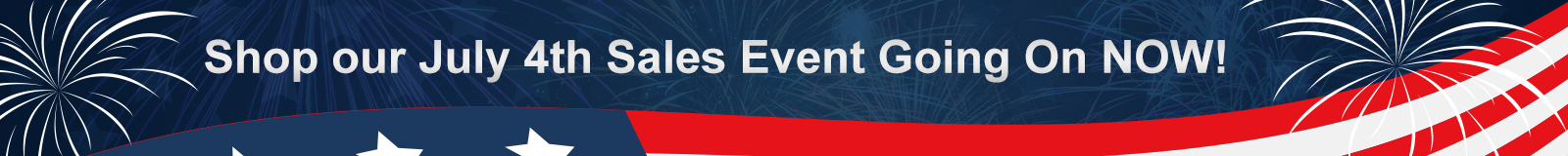 Memorial Day Sales Event Banner
