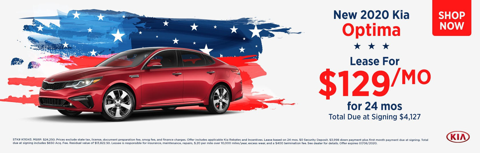 Optima 4th July Special