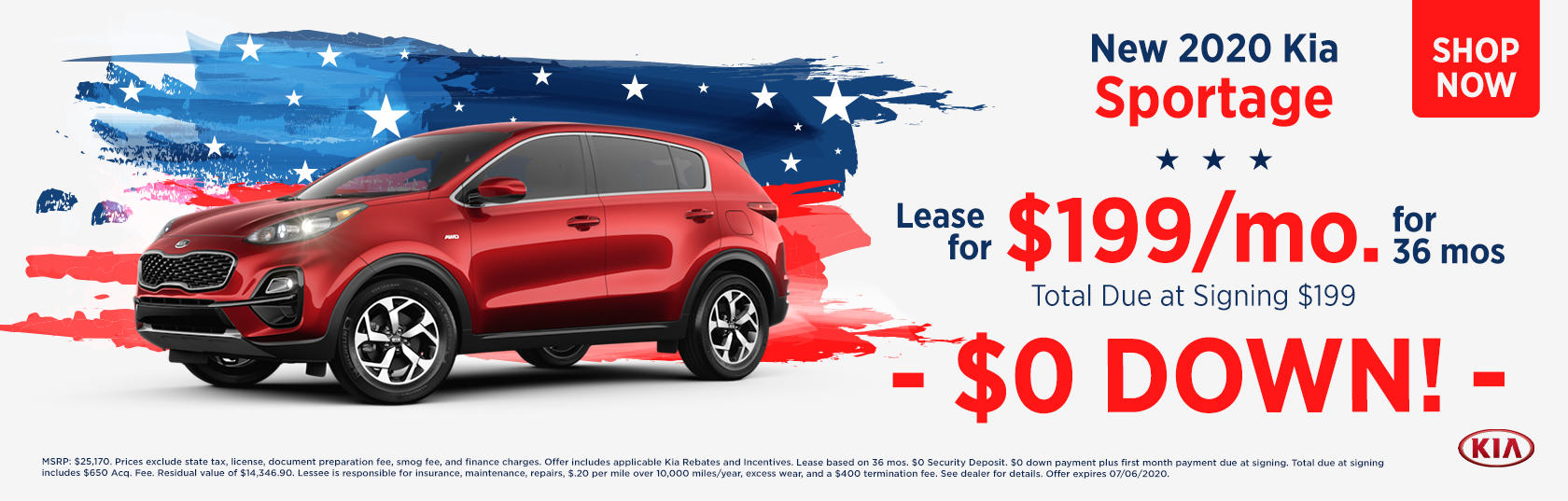 Sportage 4th July Special