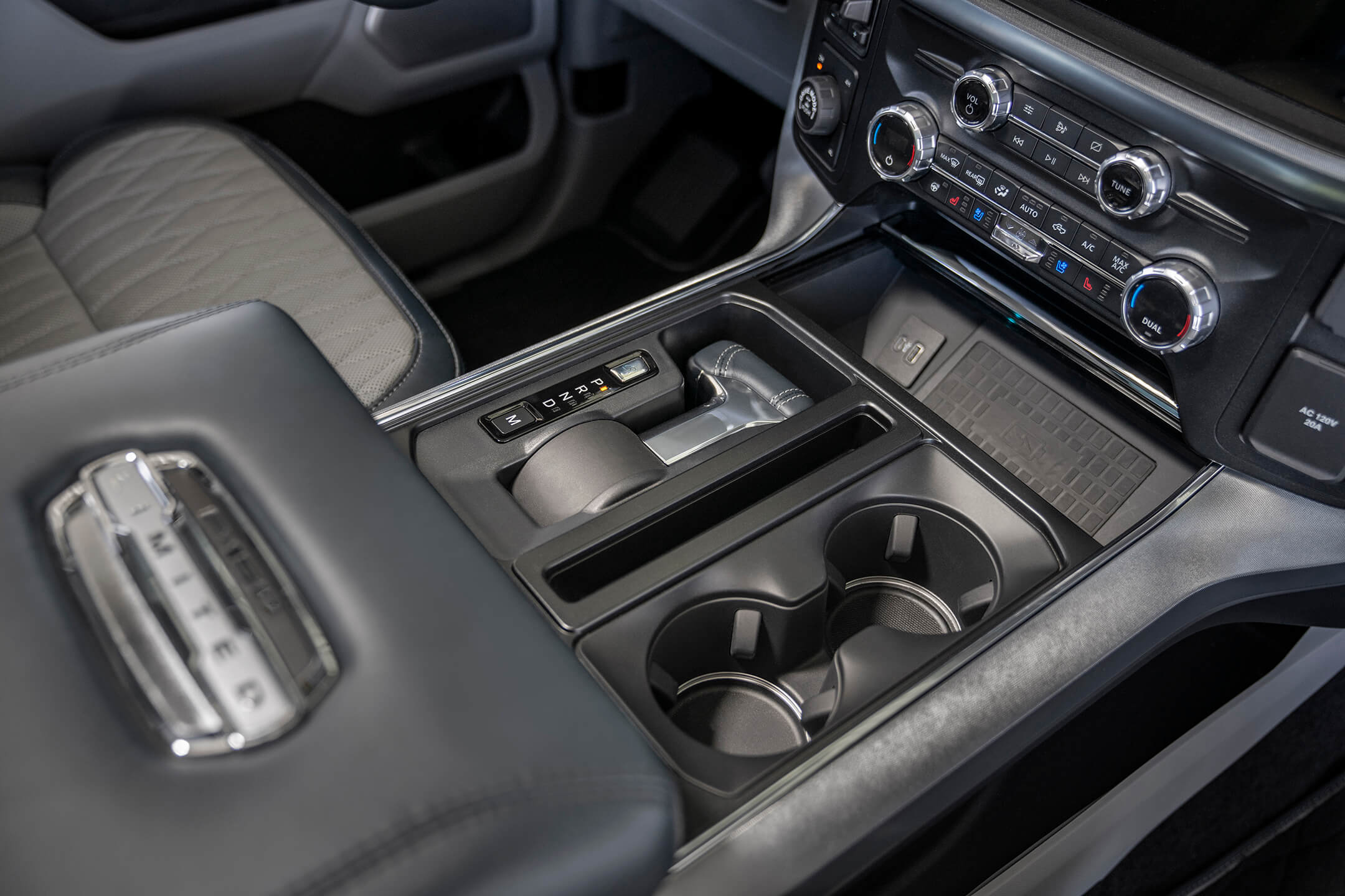 ford f150 interior display