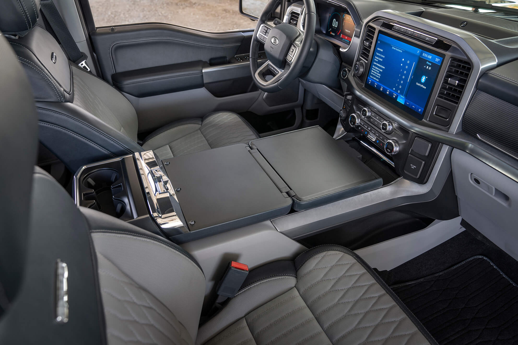 ford f150 interior layout and seating