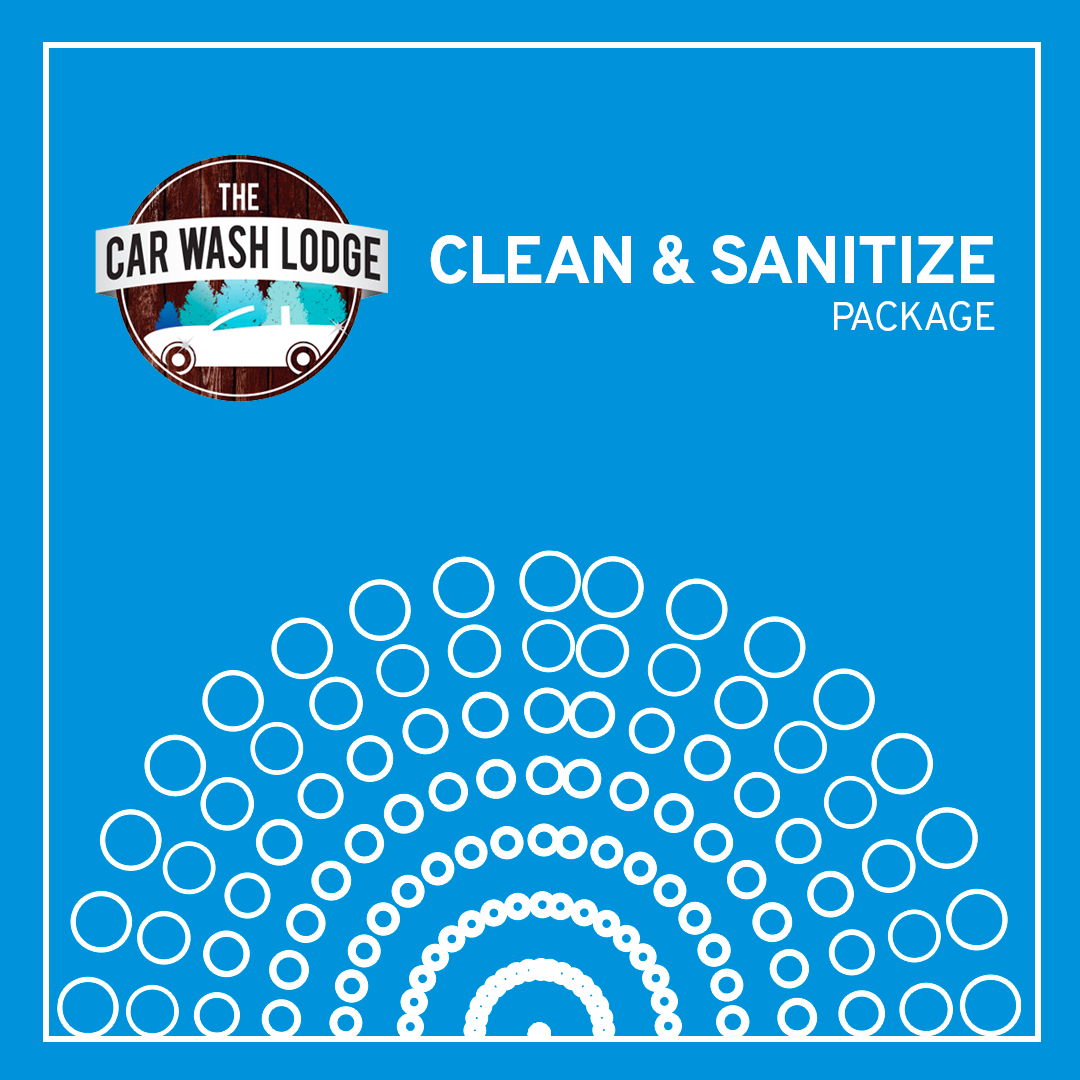 Clean and sanitize logo