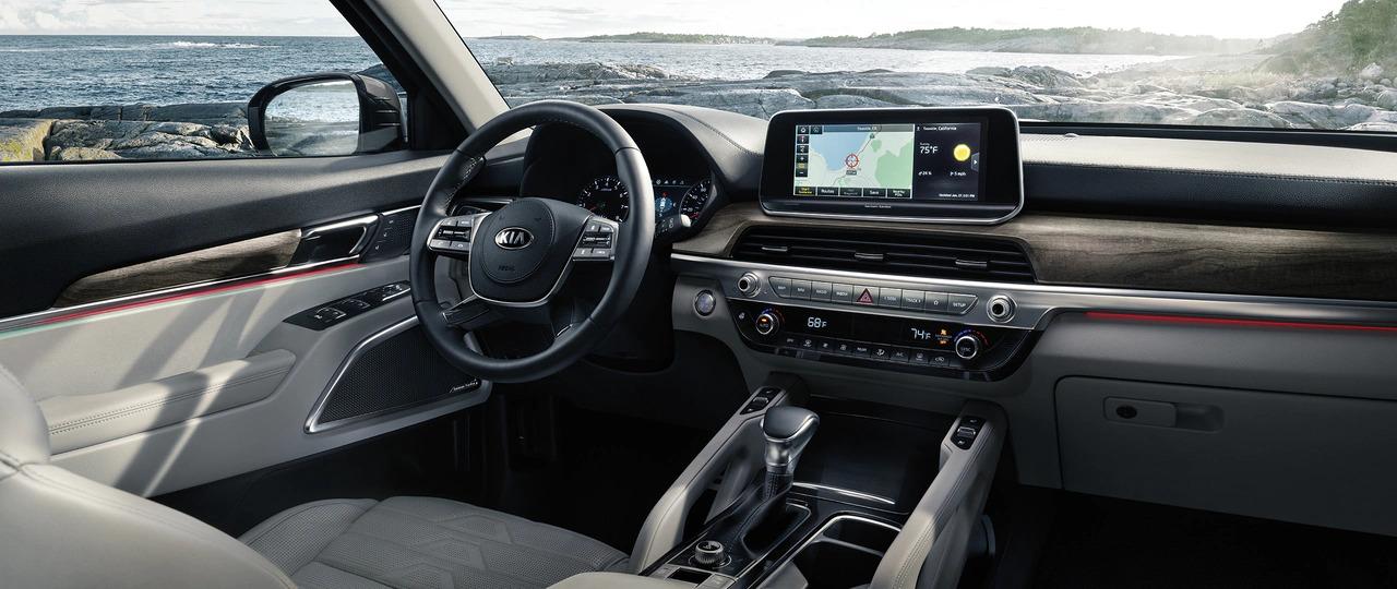 Telluride Driver's Cockpit