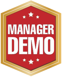 Manager Demo Badge