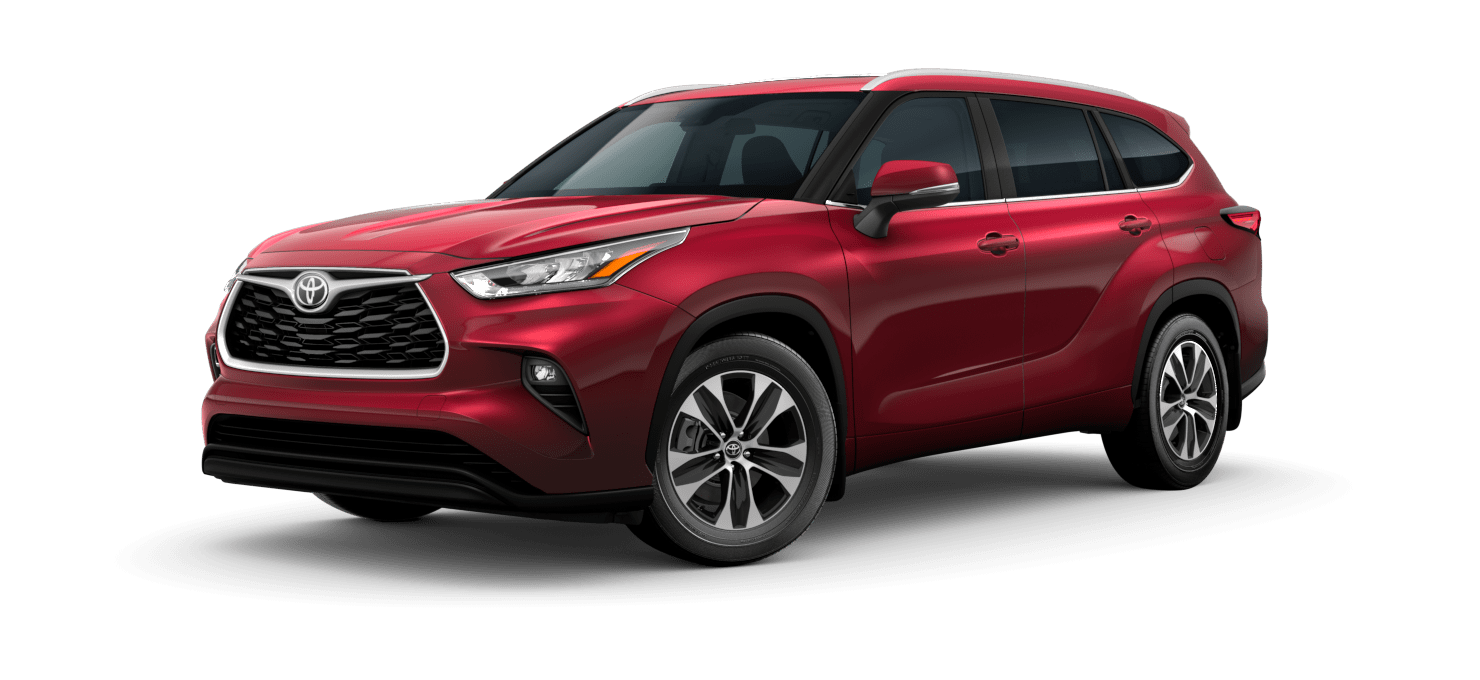 Image of a new 2020 Highlander