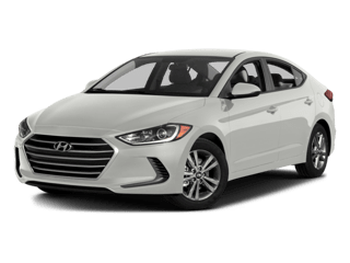 White Hyundai Vehicle