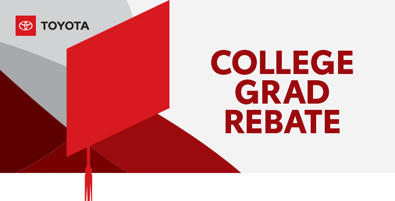 Toyota College Graduate Rebate Logo