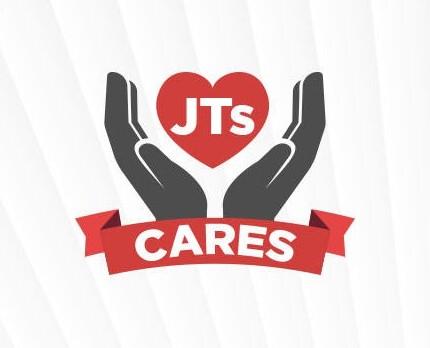 JT's Cares logo