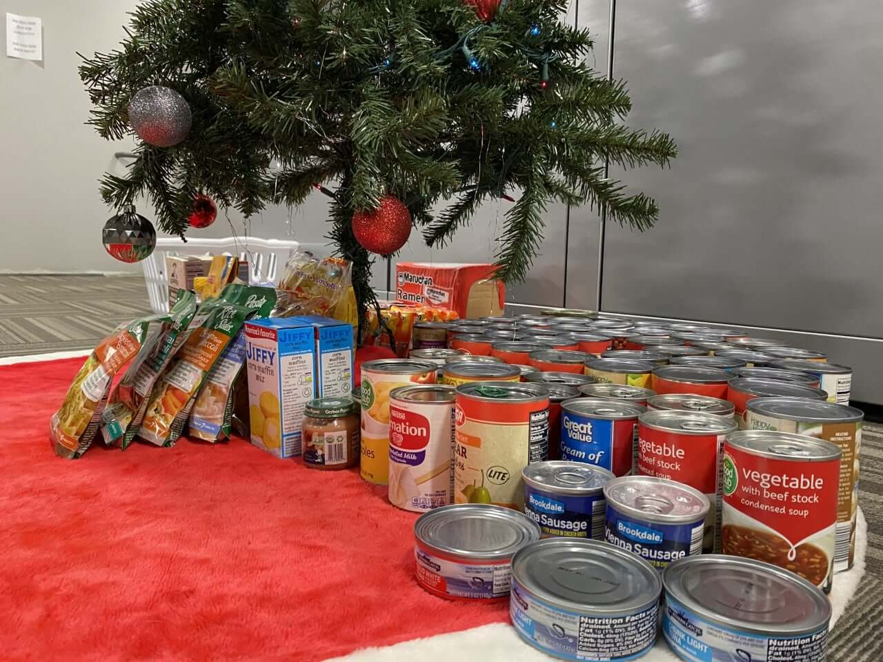 JT's Auto Christmas can food drive