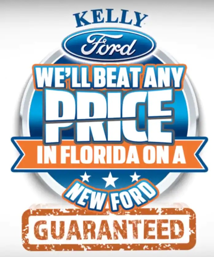We'll beat any new Ford price in Florida logo