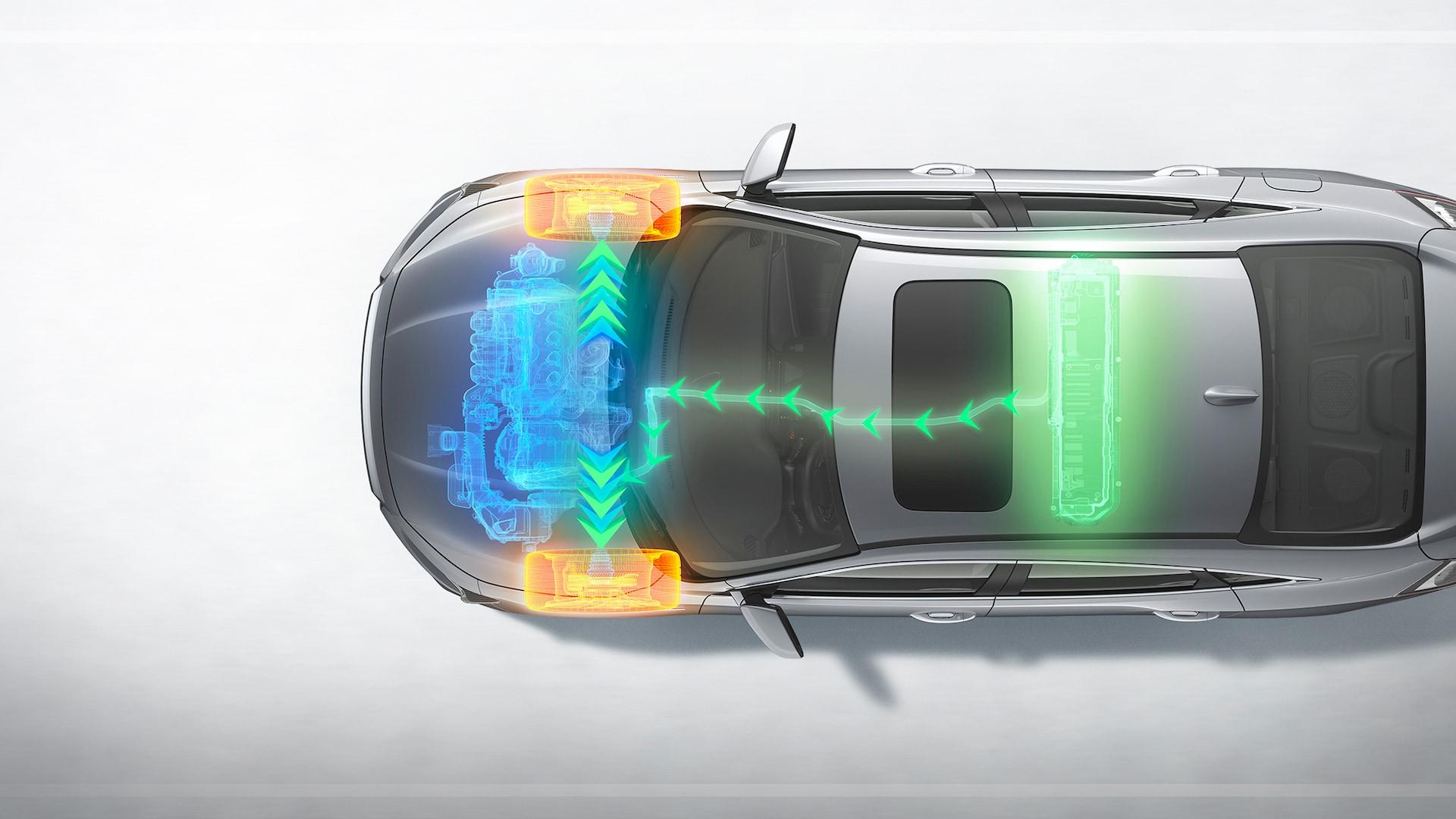 insight efficiency hybrid powertrain