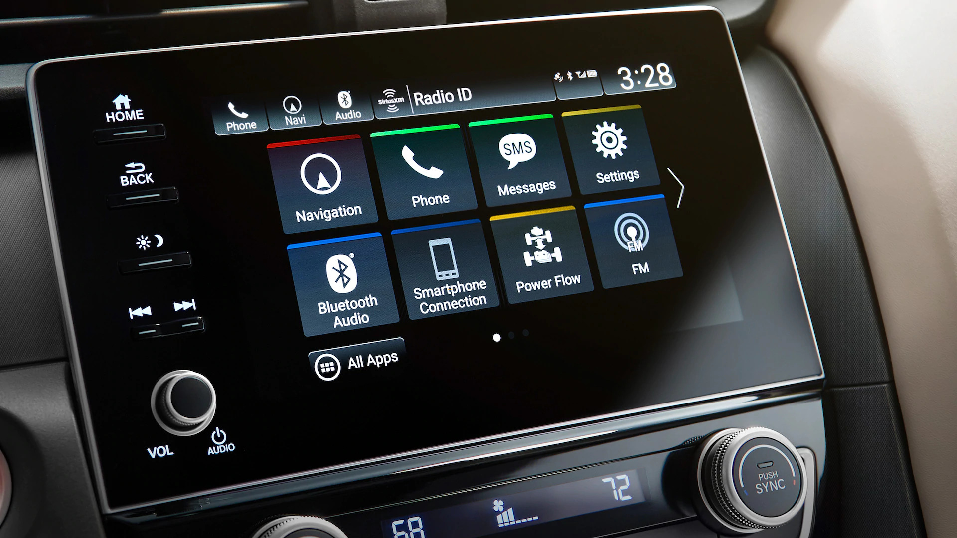 insight peace of mind display audio touchscreen
