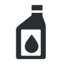 Oil change service icon