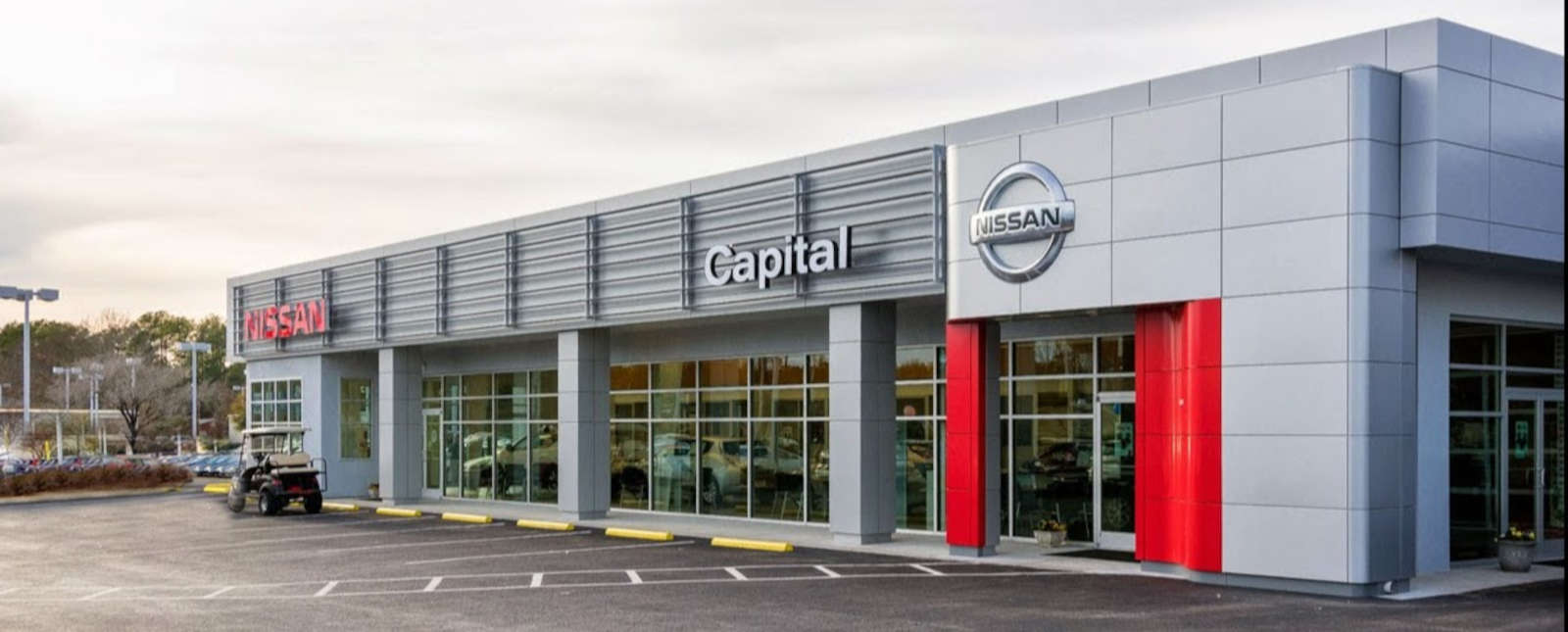 Capital Nissan Dealership located in North Carolina