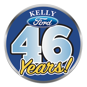 46 Years in business logo
