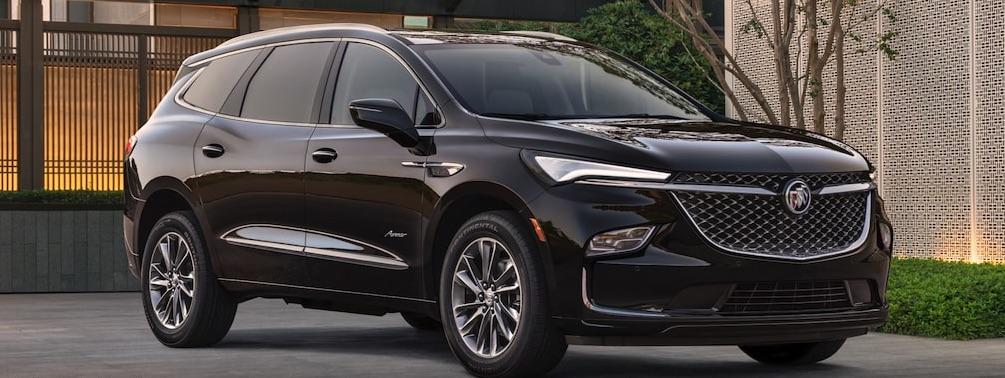 A 2022 Buick Enclave parked