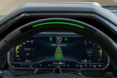 Steering wheel lights
