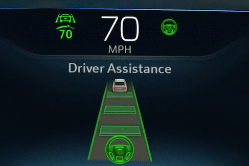 Driver assistance dashboard