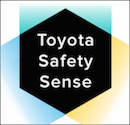 Toyota safety sense white