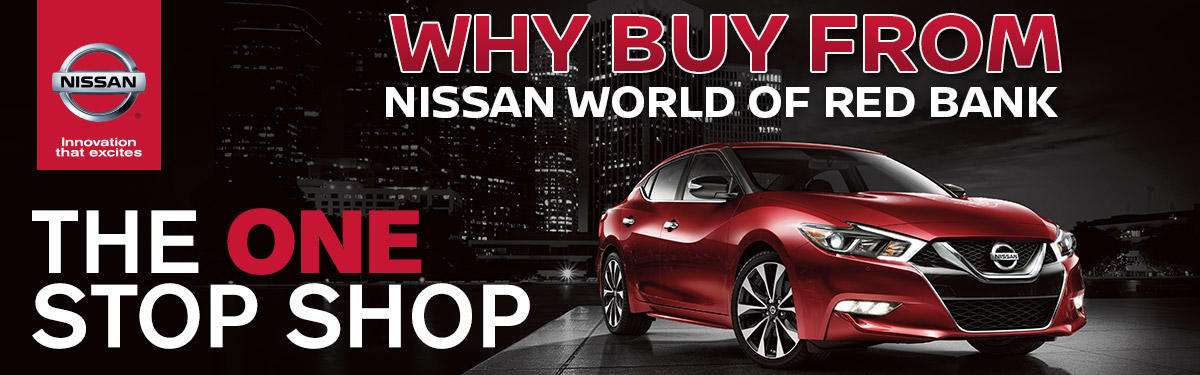 Nissan World of Red Bank | Nissan Dealer | Used Cars | Red Bank, NJ