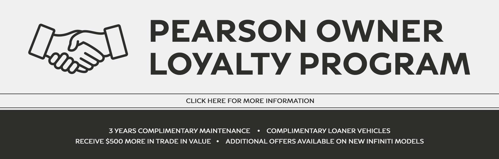 Pearson Loyalty Program